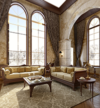 Traditional Parlor Room - Home Furnishing